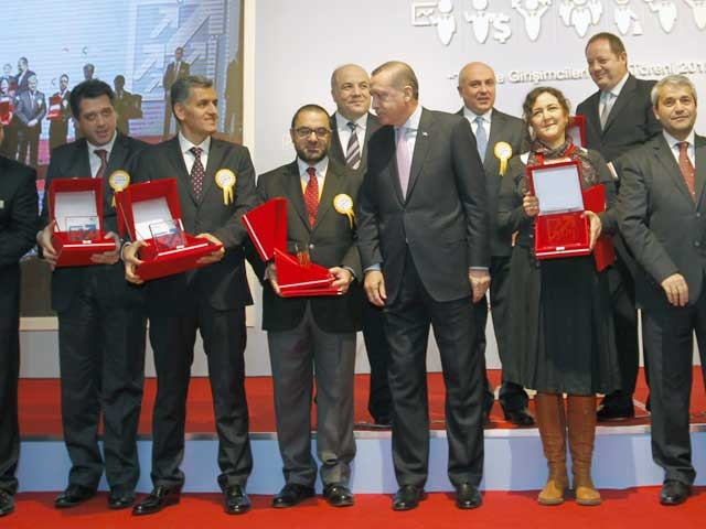 Recipients of 2012 SME Awards